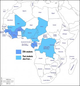 afrique-countries-served